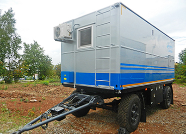 Trailer house production and repair